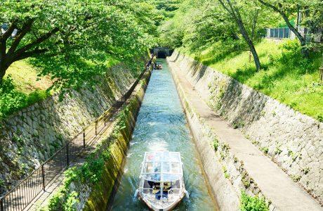 """地元ガイドと""""大津百町まちあるき""""&びわ湖疏水船②"""